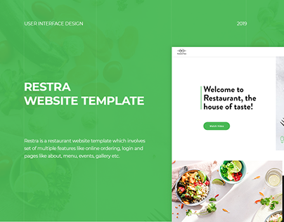Restra Website Template