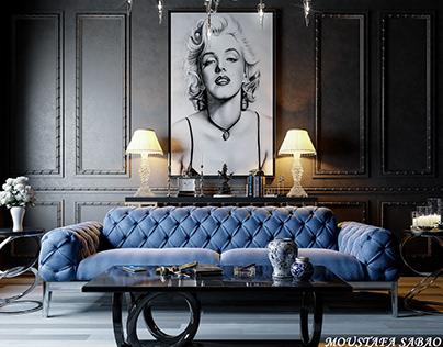 interior-07 Marilyn Monroe