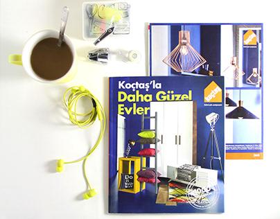 Koçtaş Dekorasyon Ekstra Katalog Tasarımı - 2015.