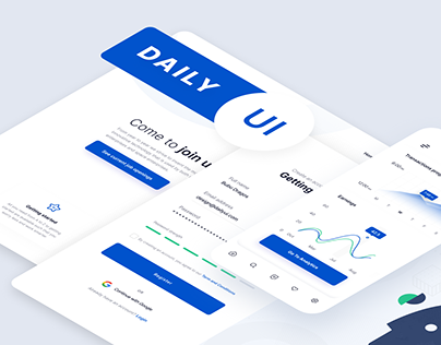 Daily UI Challenge | 100 Elements
