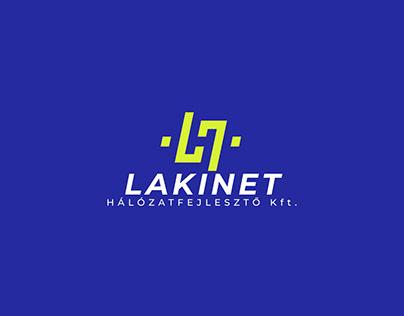 Laknet logo design