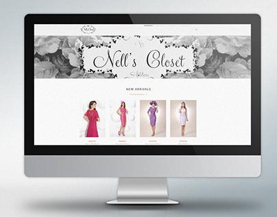 Nells Closet Website