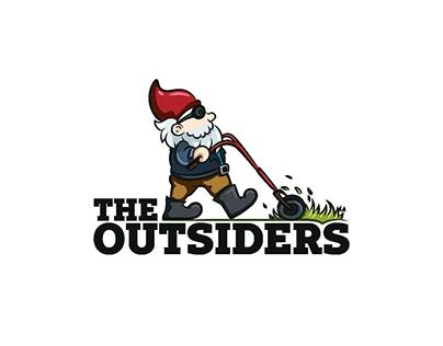 Logo design done for a garden landscaping service.