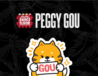 BACARDI x PEGGY GOU Sticker Set