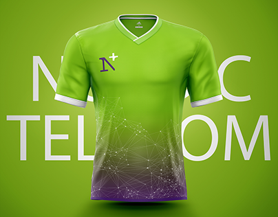 Sport Jersey designs for Nordic telecom employees