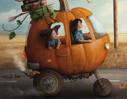 Pumpkin Car