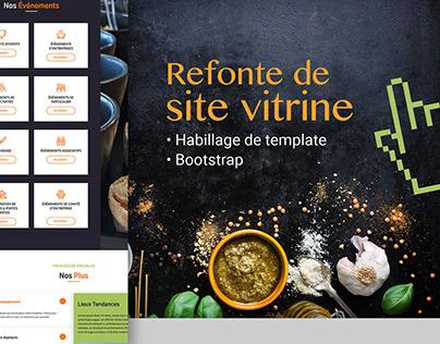 [Web design] - Habillage de template - Bootstrap