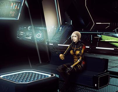 Норра и космическая станция