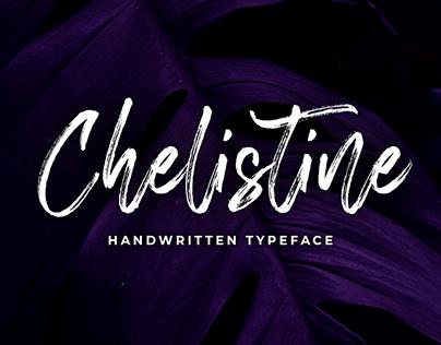 Chelistine -Handwritten Font-