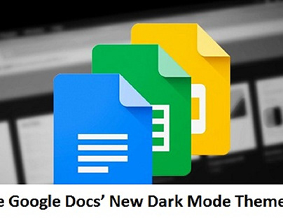 Google Docs' New Dark Mode Theme on Android