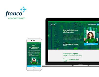 Franco Condominium Conceito Website