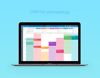 CRM system for stomatology