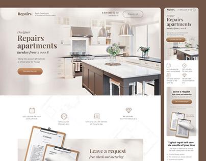 Designer Repairs apartament