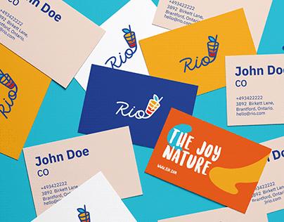 Rio brand design