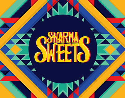 Sharma Sweets Logotype and Branding | Indianama 2018