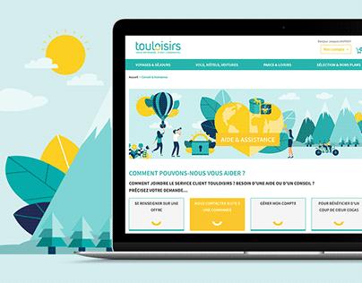 Touloisirs - Design de l'aide & assistance
