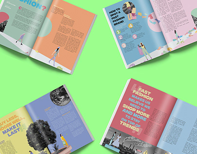 WHAT IS FAST FASHION? Editorial Design