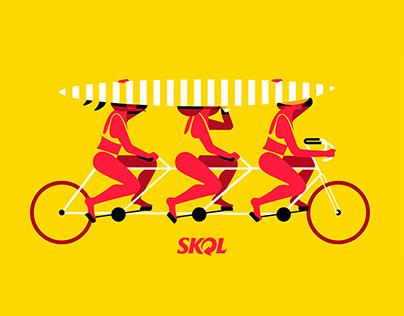 Skol Illustrations