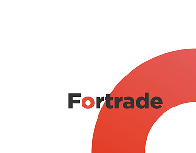 Сайт для компании Fortrade