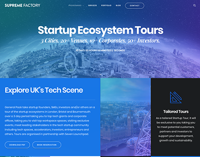 UK Startup Ecosystem Tours