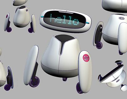 KIA BOT - Home Assistance Robot