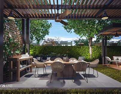 Garden outdoor Sitting - Modern