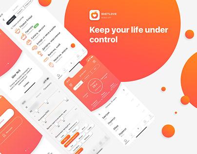 IDietLove | Mobile App