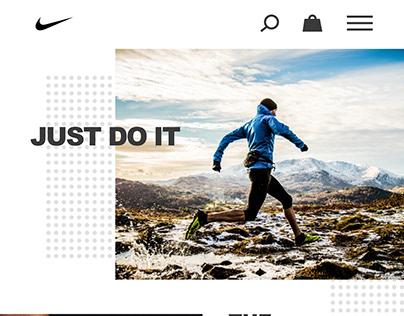 Nike Mobile Web Store Concept