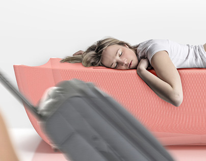 Nest - Airport Storage Bed | Concept Design