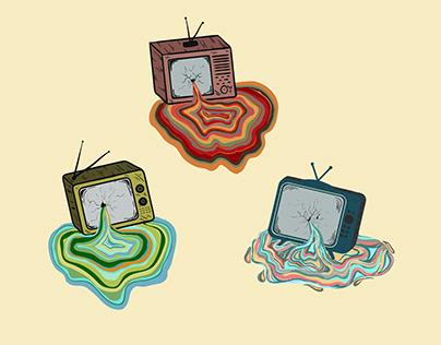 Melting Television