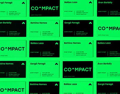 COMPACT studio – branding