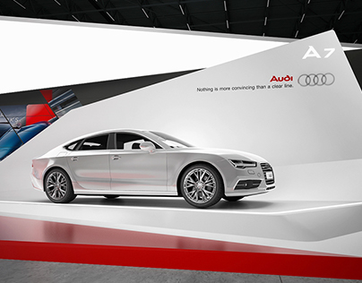* AUDI * exhibition stand *