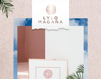 Lylo Magaña Propuesta de logotipo 1