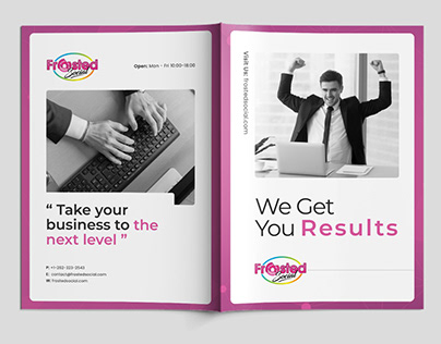Brochure Project for Frosted Social