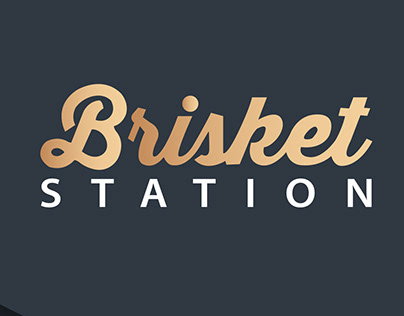 Brisket logo brand