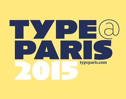 TypeParis Summer 2015