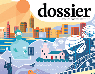 Cleveland, Dossier Magazine Cover