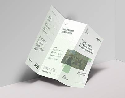Business Conference Brochure Template