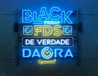 Campanha de Black Friday - Daora Supermercado