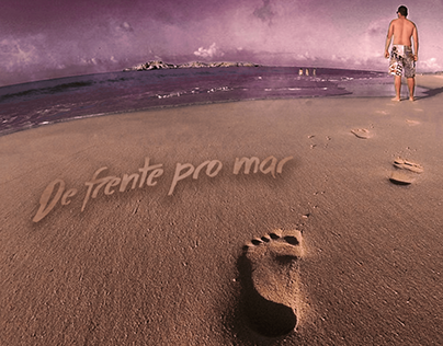"Capa e Video ""De frente pro mar"""