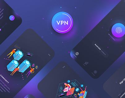 A Virtual Private Network App