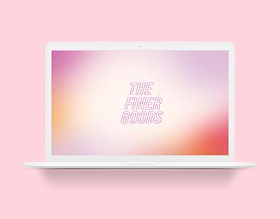 The Finer Goods - Online platform for visual artists