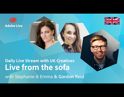 Adobe Live from the sofa UK with Gordon Reid