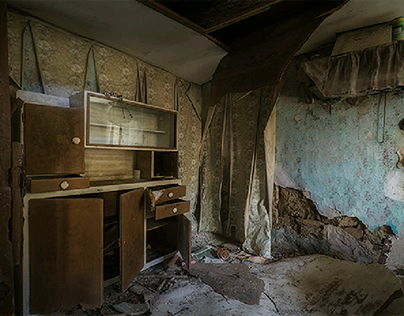 Human absence- Abandoned family houses