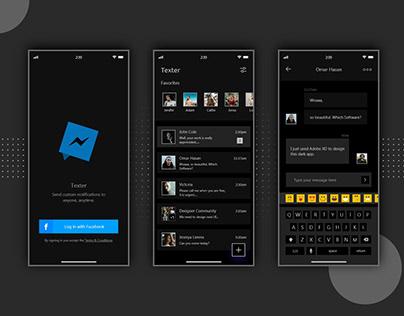 Chat Messenger App UI