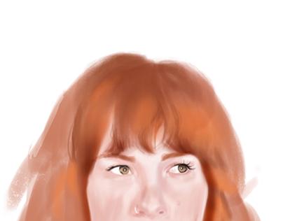 Portrait in progress   2018