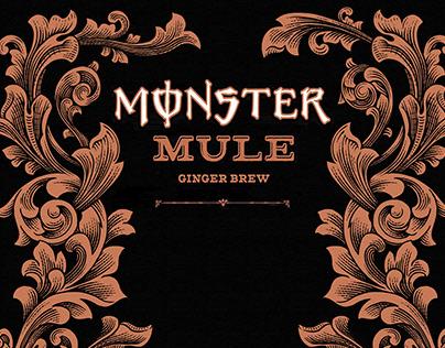 Monster Mule Label Illustsrated by Steven Noble