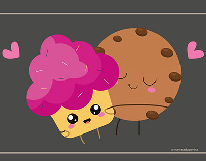 Cookie and Cupcake