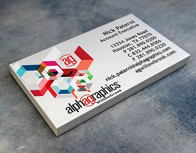 Nick Paterni Business card