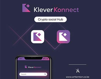 Klever Konnect Logo Illustration